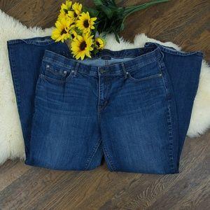 Levi's 525 Perfect Waist Straight Dark Flap Pocket